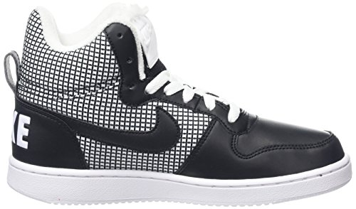 Black Chaussures Se White Nike Borough Basketball Court Femme Mid de Blanc wOxpvqI