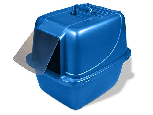 (Extra Large) Van Ness Odour Control Extra Giant Enclosed Cat Pan with Odour Door CP7