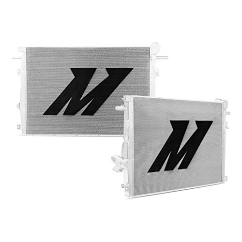 Mishimoto MMRAD-F2D-11 Silver Aluminum Primary Radiator for Ford 6.7L Powerstroke by Mishimoto