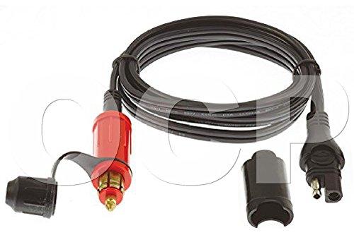 OptiMATE CABLE O-09, Adapter-extender, SAE to BIKE 180° plug, (09 Plug Adapter)