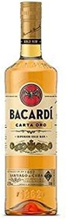 Bacon Oro Ron Bacardi 37.5 ° 70 cl: Amazon.es: Alimentación ...