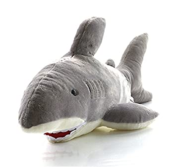 bb76572796 Amazon.com: Free Shipping Hotsale 65CM Super Likable Shark Plush Toy Funny  Toy For Gift Baby Toy Anime Character: Baby