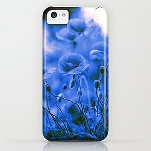 Society6 - Blue Poppies iPhone & iPod Case by Falko Follert Art-FF77 BY icecream design