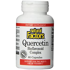 Natural Factors Quercetin Bioflavonoid Complex Support for the Body's Use of Vitamin C