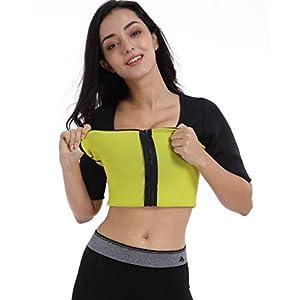 Valentina Womens Hot Thermo Shaper T Shirt, Neoprene Slimming Bodysuit, Workout Sweat Sauna Suit, Body Fat Burner, Best…