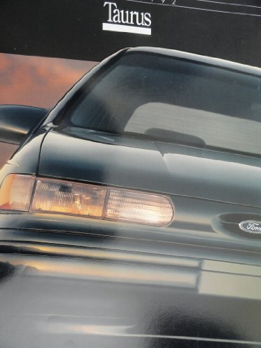- Original 1992 Ford Taurus Sales Brochure