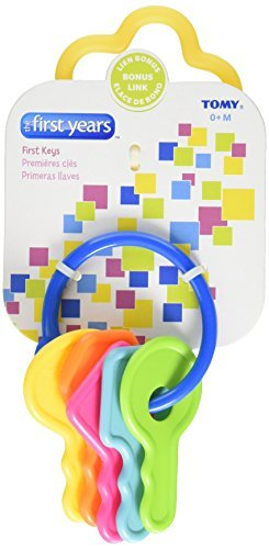 The First Years Learning Curve First Keys Teether (Pack of 10)