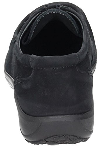 Dr. Brinkmann Cushy 850238 women shoes with drawstrings Width H 1/2 Schwarz lITCk