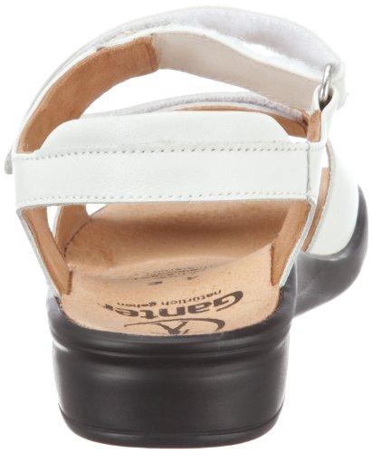 Ganter Sonnica, Weite E 3-202857-02000 - Sandalias clásicas de cuero para mujer Blanco