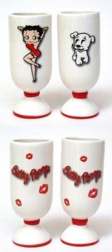 Betty Boop Glass Shot Glass - 4