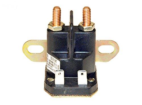Starter Solenoid for Cub Cadet LT1045, LT1050, LT1042, GT1554, I1046, LTX1040, LT1046, I1050, LTX1045, LTX1050, RZT50, LT1040, SLT1554, I1042, LTX1042, LTX1046, GT2000, RZT42, SLT1550 Solenoid Part