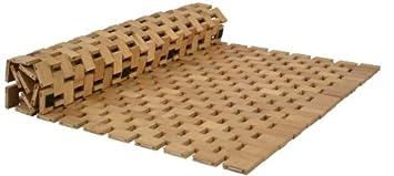 High Quality Bambus Badezimmermatte 78,5x50x0,6cm Duschvorleger Holzmatte Vorleger  Dusche Bad Images