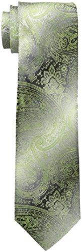 Van Heusen Men's Chad Paisley Tie, Green, One Size ()