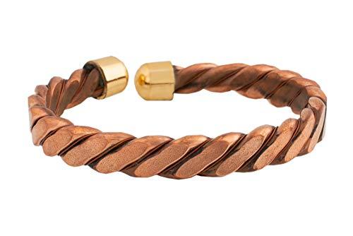 (Dexterity African Elephants Hair Bracelets Style Copper and Brass Bracelet)