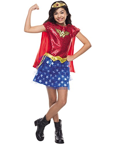Rubie's Costume DC Superheroes Wonder Woman Sequin Child