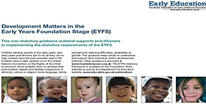 Development Matters: Early Years Foundation Stage: Amazon.co.uk: Office  Products