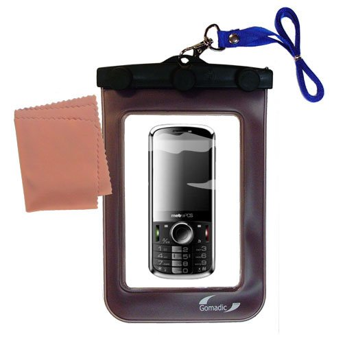 Gomadicアウトドア防水携帯ケースSuitable for the ZTEエージェントに使用Underwater – keepsデバイスClean and Dry   B0049KUMWI
