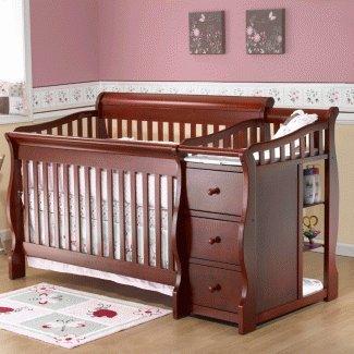 Amazon.com : Sorelle Baby Furniture   Sorelle Tuscany Collection 4 1 Crib  In Cherry : Baby