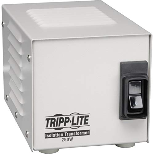 (Tripp Lite IS250HG Isolation Transformer 250W Medical Surge 120V 2 Outlet TAA GSA)