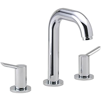 Hansgrohe 32310001 talis s widespread faucet chrome bathroom sink faucets for Hansgrohe talis bathroom faucet
