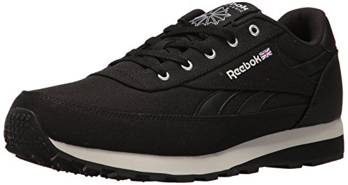 Reebok Men's CL Renaissance TXT Fashion Sneaker Black/Steel/Gravel, 9 M US