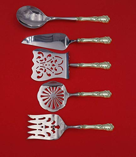 Buttercup by Gorham Sterling Silver Brunch Serving Set 5-Piece HHWS Custom Made