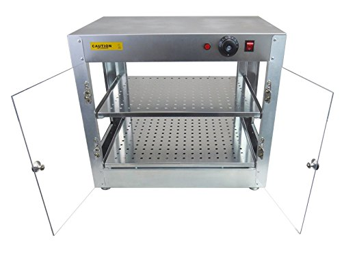 New Commercial Counter Top Food Pizza Pastry Warmer Wide Display Case 20'' x 20'' x 24'' by MTN Gearsmith (Image #4)
