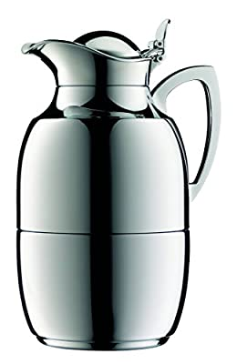 Alfi Juwel 8-Cup Carafe, Chrome Plated Brass