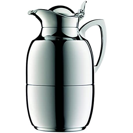 Alfi Juwel 8 Cup Carafe Chrome Plated Brass