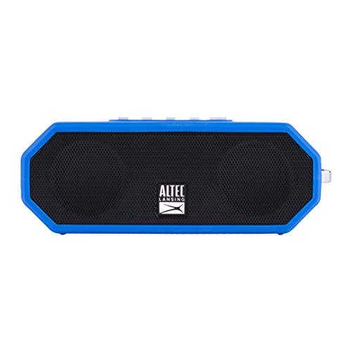Altec Lansing IMW449 Jacket H2O 4 Rugged Floating Ultra Portable Bluetooth Waterproof Speaker with up to 10 Hours of Battery Life, 100FT Wireless Range and Voice Assistant Integration - Stereo Altec Lansing