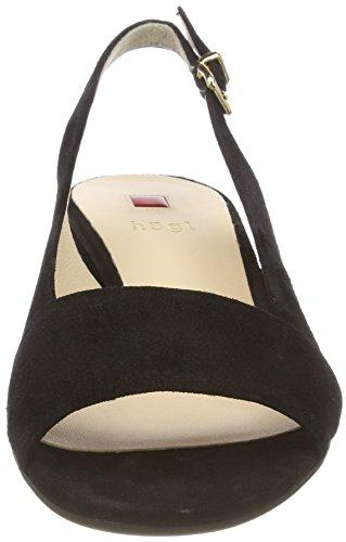 Schwarz 5 Escarpins Högl 2102 Femme 0100 Noir 10 0x4SpP
