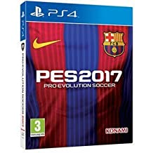 Pro Evolution Soccer 2017 - FC Barcelona Edition (includes Steelbook) (PS4) (UK)
