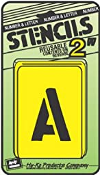Number And Letter Stencils
