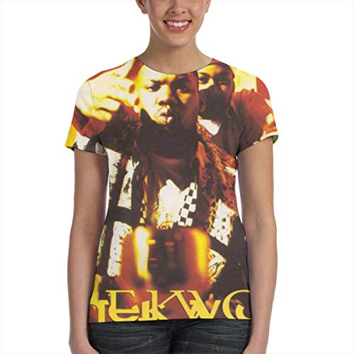 Jamie Sinclair Raekwon Only Built 4 Cuban Linx Women Short Sleeve Round Neck T-Shirt Black M