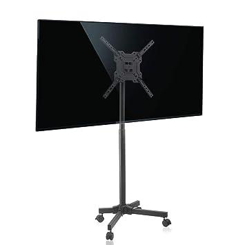 "Móvil LCD TV Carro Soporte Monitor de Piso para 17""-50"" LCD LED"