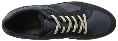Ecco Mens Enrico Retro Oxford Shoe Navy / Marine