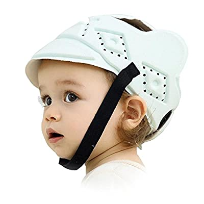 Leiyini Child Safety Helmet Adjustable Baby Head Protection Hat Ultra Light Anti-Collision Hat