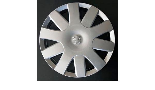 Wheeltrims Set de 4 embellecedores nuevos para Peugeot 107/207 / 308/407 / 1007 / Tepee/Bipper con Llantas Originales de 14: Amazon.es: Coche y moto
