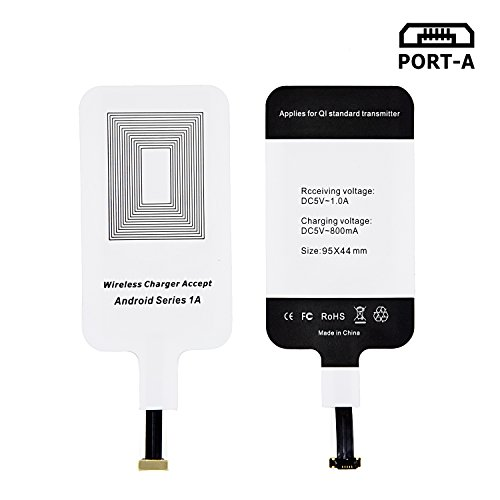 LEAPCOVER Universal Wireless Charging Receiver