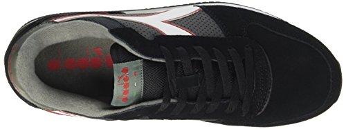 Diadora Men's Malone S Low-Top Sneakers Black (Nero Trasparente) bLHaH