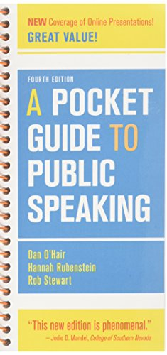 Pocket Guide to Public Speaking 4e & SpeechClass Solo (Access Card)