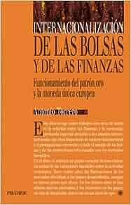 Internacionalizacion de Las Bolsas y Las Finanzas (Economia Y Gestion