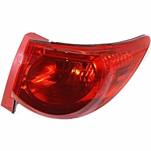 erse Right Passenger Tail Lamp Assembly Quarter Mounted (Tail Lamp Quarter)