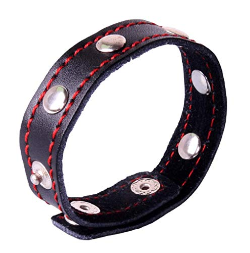 (BINFEN Leather Exercise Bands for Men Women Tie Time Delay)