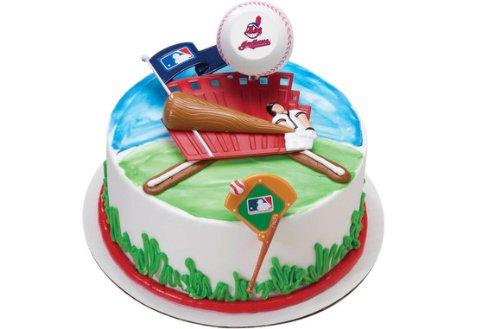 MLB Cleveland Indians Cake Dec Kit