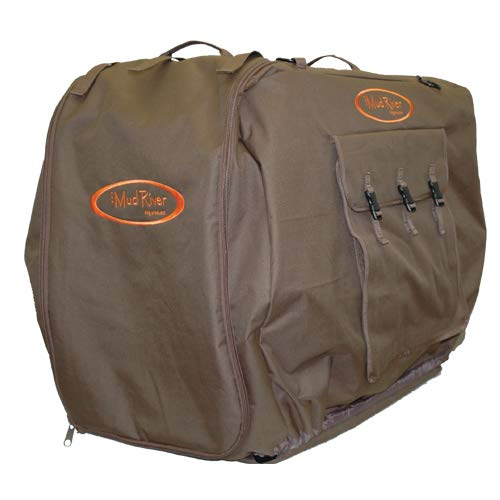 Mud River Bedford Uninsulated Kennel Cover, Brown, Large