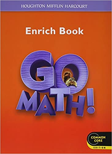 Go Math!: Student Enrichment Workbook Grade 2: HOUGHTON MIFFLIN ...
