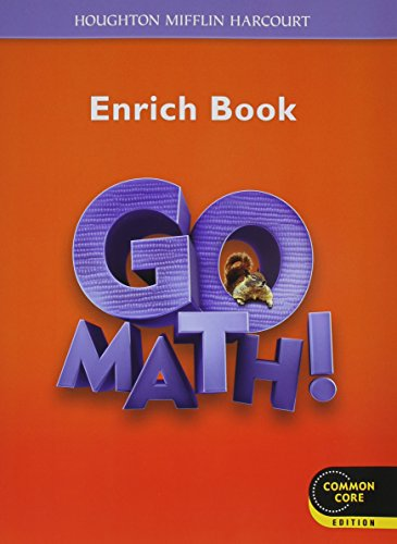Go Math!: Student Enrichment Workbook Grade 2