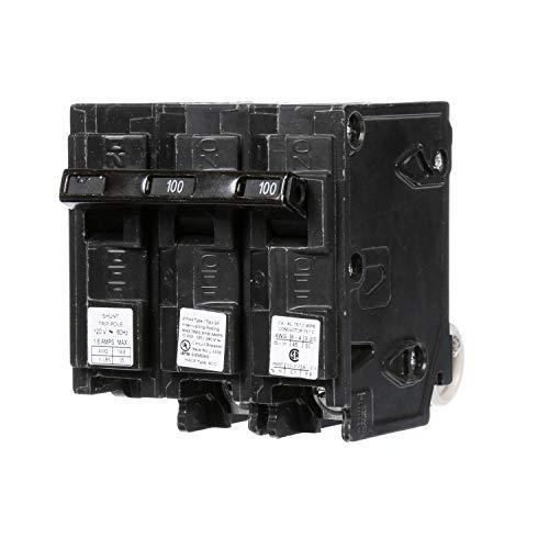 Siemens Q210000S01 120/240-Volt type MP-T 100-Amp Circuit Breaker with 120-Volt Shunt Trip Double pole