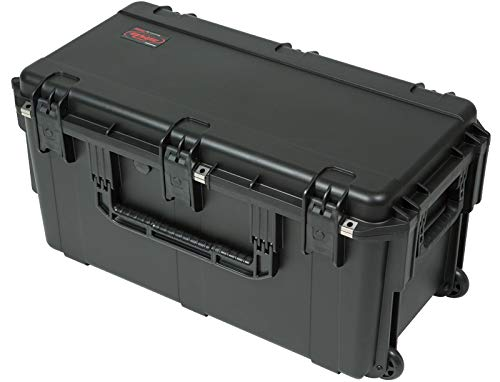 SKB Series Waterproof Case-29'' x 14'' x 15'' w/Wheels and Cubed Foam (3i-2914-15BC